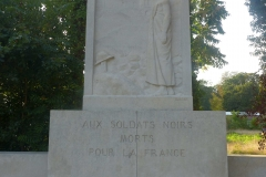monument aux soldats noirs morts pour la France