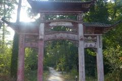 porte chinoise jardin agronomie tropicale