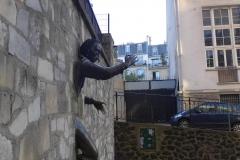 Dutilleuil, Le passe murailles Marcel Aymé par Jean Marais